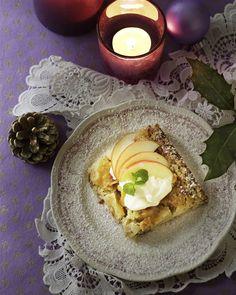 Mormors bagte æblekage