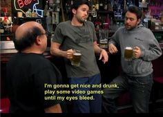 Happy weekend, Charlie Kelly style...