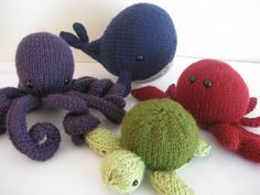 I want to knit these