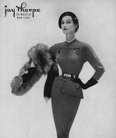 September Vogue 1951 by dovima_is_devine_II, via Flickr
