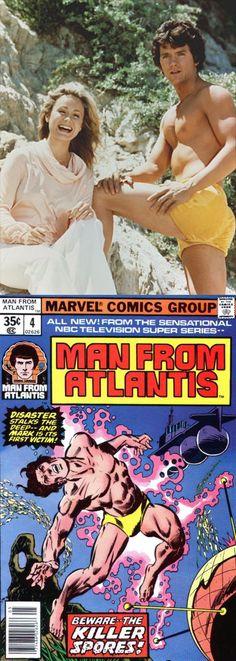 Patrick Duffy & Belinda Montgomery in Man from Atlantis (1977-78, NBC)