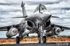 French Air Force Dassault Rafale at NATO Tiger Meet 2014