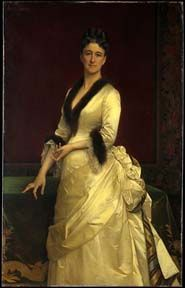 Catharine Lorillard Wolfe was born on March 8, 1828 (d. April 4, 1887).  She was an American philanthropist and art collector.  She supported organizations that worked with homeless children, financed archaeological missions and was involved with the American Museum of Natural History.  Upon her death, her art collection went to the Metropolitan Museum of Art.