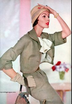 1957 Photo by Horst - Model Lucinda Holingsworth