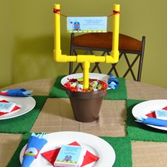 baby shower on pinterest themed baby showers football and football