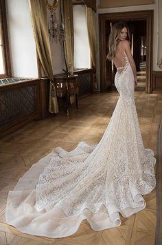 A stunning Berta wedding dress. Berta Fall 2015 Bridal Collection.