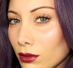 Cherry lips #cherrylips #burgundylips #lips #makeup #tutorial