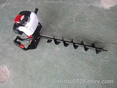 52CC gasoline earth auger in stock purchase (ZJ-GD520) - China gasoline earth auger, TOPKIN/ZHONGJI