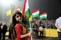 I love♡ Kurdistan flag ♡
