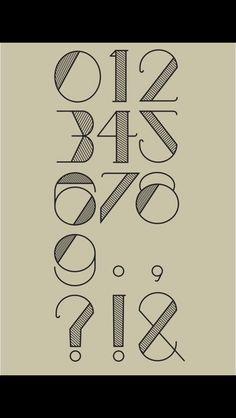 20's font
