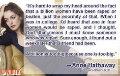 Another reason to love Anne Hathaway