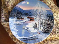 Spirit Christmas Jingle Bells Plate Bradford by ChinaGalore, $17.50
