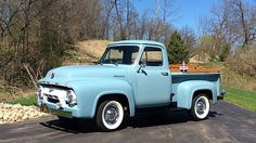 1954 Ford F100 Pickup 239 CI, Power Steering presented as lot T96 at Indianapolis, IN 2015 - image1