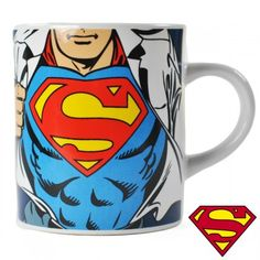 DC Superman Chest Logo Mini Mugs Espresso Coffee Justice League Official Superman Dc Comics, Batman Vs Superman, Superman Stuff, Costumes Uk, Superman Costumes, Mark Knopfler, Mug Original, Taylor Swift Guitar, Books