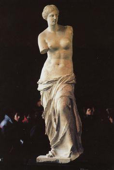 Venus de Milo (130 a.C - 100 a.C., escultura del periodo helenistico).  http://www.blogodisea.com/2010/venus-afrodita/mitologia-griega/