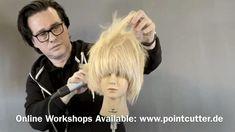 Hair Cutting Videos, Hair Cutting Techniques, Icy Blonde, Blonde Hair, Pixie Styles, Short Hair Styles, I Like Your Hair, Beautiful Long Hair, Tutorial