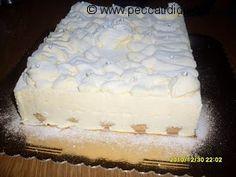 """non so da quanto tempo ho questa ricetta inserita nel pc ma mai arrivata sul mio blog! che vergogna come questa tante altre provai tempo fa questo tiramisù di sal de riso procedimento lungo ma ne è valsa la pena! vi riporto la ricetta tratta da uno dei suoi libri """"dolci del sole""""  ingredienti:...Continua a leggere Italian Bakery, Italian Desserts, Tiramisu Cheesecake, Modern Cakes, Cake & Co, Fruit Snacks, Sweet Cakes, Something Sweet, Cake Cookies"""
