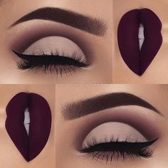 Best Matte Makeup Eyeshadow - Make UP Ideen Matte Makeup, Makeup 101, Makeup Goals, Skin Makeup, Makeup Inspo, Makeup Eyeshadow, Makeup Inspiration, Makeup Brushes, Makeup Ideas