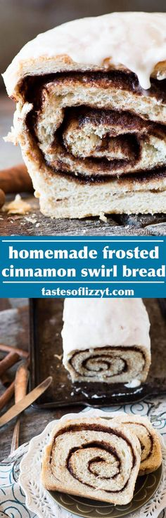 Take a buttermilk bread dough recipe and turn it into a sweet cinnamon swirl bread. Find out the secret for a gooey cinnamon swirl throughout.