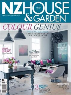 Nz House & Garden June 2015 Issue- Simple Ideas for Sorting your wardrobe.  #NZHouseandGarden #WallPaint
