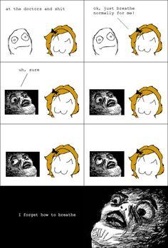 rage comic oh my goshhhh! so funny!