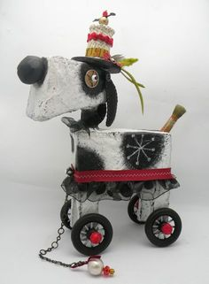 doggy a go go  by juliehaymakerthompson. LOVE her stuff!