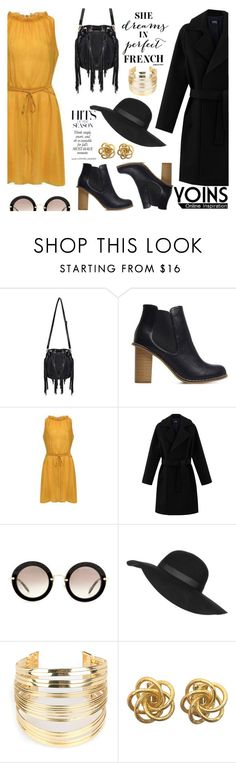 """""""Yoins 27"""" by kenguri on Polyvore featuring Miu Miu, Topshop, WithChic, women's clothing, women's fashion, women, female, woman, misses and juniors"""
