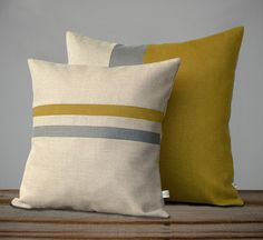 Color Block & Stripe Pillow Set – Sienna and Grey Striped Pillow – Sienna and Grey Colorblock Pillow by JillianReneDecor Color Block & Stripe Pillow Set – Sienna and Grey Striped Pillow – Sienna and Grey Colorbloc Grey Pillow Covers, Grey Pillows, Linen Pillows, Decorative Pillow Covers, Pillow Set, Cushion Covers, Linen Bedding, Cushions, Throw Pillows