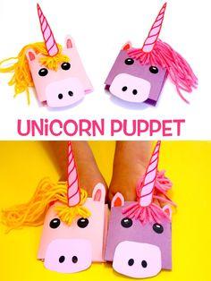 Unicorn Puppet