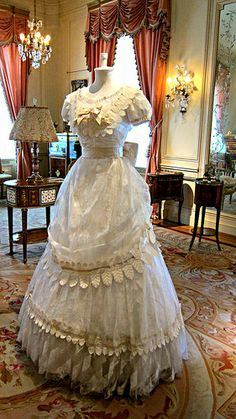 Costume, Hillwood Estate, Museum IMG_7367 Hillwood Estate, Museum & Gardens, Washington, DC. The home of Marjorie Merriweather Post. Photograph by Dolores Kelley. Roy and Dolores Kelley Photographs