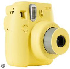 bol.com | Fujifilm Instax Mini 8 - Geel | Elektronica