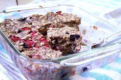 Baked Oatmeal Bars (Vegan, Gluten-Free) - Nicki SizemoreNicki Sizemore