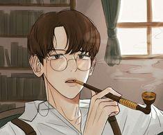 Baekhyun Fanart, Chanbaek Fanart, Exo Anime, Exo Fan Art, Crazy Funny Memes, Kpop, Boy Art, Art Inspo, Gentleman