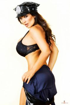 Denise Milani looks absolutely gorgeous in these photos showcasing her pretty face, and her big boobs and hot as. Exotic Women, Sexy Wife, Milani, Hot Bikini, Photoshoot, Female, Image Search, Lingerie, Police Officer
