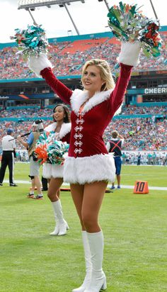 Top 16 Holiday inspired Uniforms and Costumes for 2015!  From pro cheerleaders to studio dancers