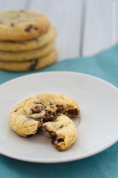 americké čokoládové cookies Thing 1, Dishes, Cookies, Blog, Crack Crackers, Biscuits, Tablewares, Cookie Recipes, Tableware
