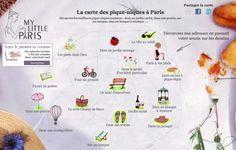 Carte interactive : trouver un coin pour Pique-niquer à Paris http://www.mylittleparis.com/cartes/pique-nique.php via MyLittleParis