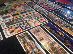 Aloitimme työskentelyn kirjaamalla kortteihin yhteisiä kysymyksiä. Lissabon 2015.