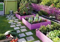 Easy to make diy raised garden beds ideas 18 Diy Garden Bed, Garden Cottage, Garden Boxes, Raised Garden Beds, Garden Ideas, Raised Beds, Garden Pond, Garden Pallet, Garden Oasis