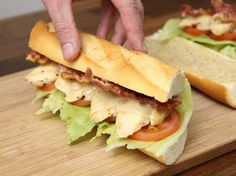 Baguette, Bacon, Sandwiches, Food, Roll Up Sandwiches, Meal, Essen, Hoods, Paninis