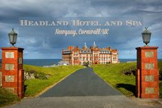 """Where posh meets """"perfectly suitable"""" for children: Family Fun at the Headland Hotel and Spa in Newquay, Cornwall UK Headland Hotel Newquay, Bubble Spa, Newquay Cornwall, Romantic Breaks, Uk Photos, Hotel Guest, Outdoor Playground, Through The Window, Grand Hotel"""