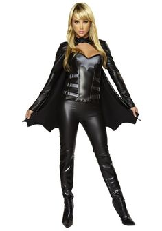 Bat Girl Sexy Halloween Costume