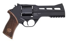 Rhino .357 Magnum. This gun is so sick it shoots from the bottom barrel