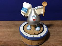Chef Hershey's Timer 60 Minute Kitchen Chocolate Kiss Collectible