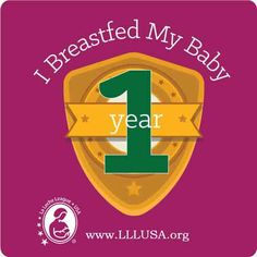 Image result for i breastfed my baby 1 year