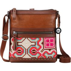 The Pax Swing Pack in Geo Cross Stitch features an adjustable strap and is roomy enough to fit all of your everyday essentials. Stash your must-haves and head o Stylish Handbags, Purses And Handbags, Brown Leather Handbags, Leather Bags, Leather Jewelry, Shoulder Handbags, Shoulder Bags, Leather Label, Fashion Bags