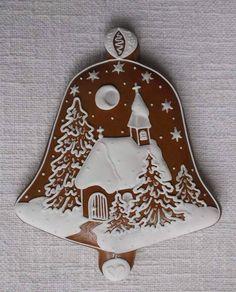 Christmas Bells, Christmas Goodies, Felt Christmas, Christmas Desserts, Christmas Baking, Christmas Sugar Cookies, Christmas Gingerbread, Holiday Cookies, Gingerbread Cookies