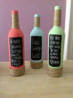 Botellas decoradas - 15