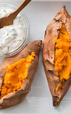 Best Baked Sweet Potatoes. The goal—creamy flesh with deeply complex flavor—is entirely different from what you want in a baked russet. And, as we discovered, so is the cooking method.