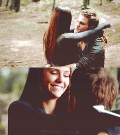 Stefan and Elena - The Vampire Diaries